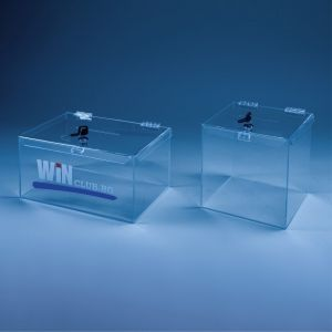 PLASTIC BOXES wuith key-lock